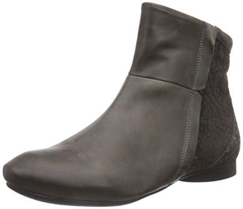 Stiefelette cuero KOMBI de mujer Grau botas GUAD gris 15 Think ANTRAZIT FIwq5BW