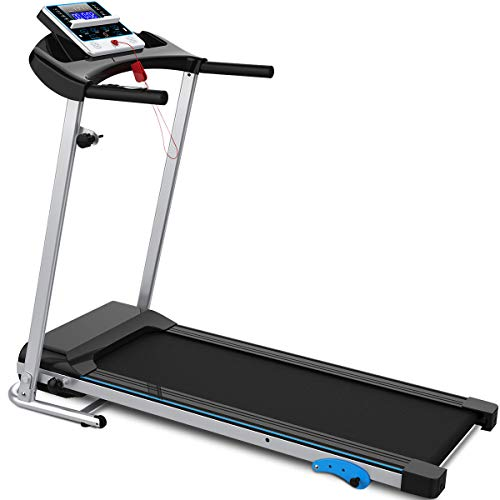 Merax Folding Treadmill Easy Assembly Motorized Running Jogging Machine for Home Use