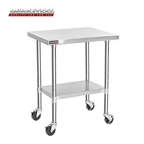 DuraSteel Stainless Steel Work Table 24