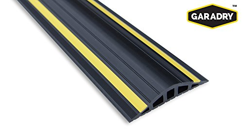"Garadry 1"" Garage Door Threshold Seal Kit RAMP Design 16"