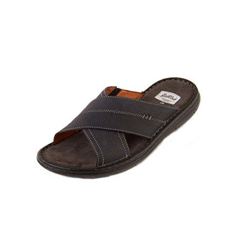 Softwalk - Sandalias de vestir de Otra Piel para hombre azul marino