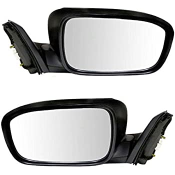 03-07 Accord 4-Door Sedan Power Heat Black Fold Mirror Left Right Side PAIR SET