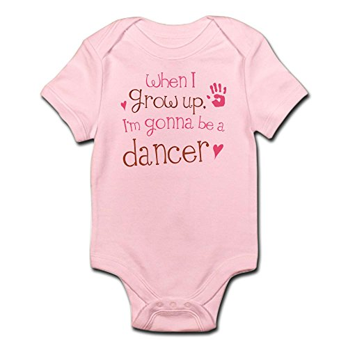 CafePress - Kids Future Dancer - Cute Infant Bodysuit Baby Romper