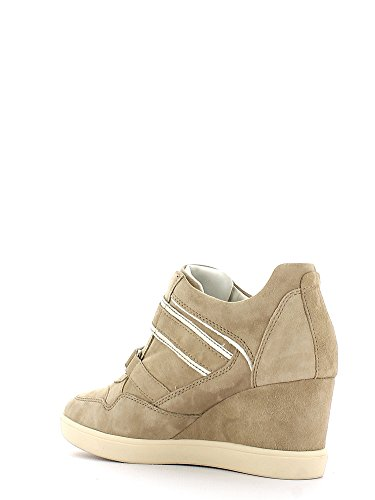 Geox - Zapatillas para mujer Lt Taupe