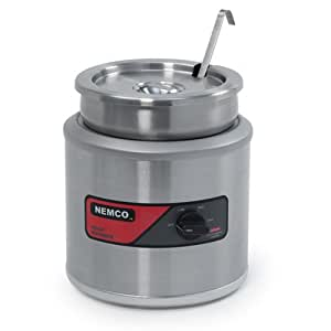 Nemco (6103A-ICL) 11 qt Round Cooker/Warmer w/ Inset