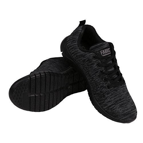 Deporte Fabric Runner charcoal Mujer Negro Zapatos Flyer De xqXvOqrR