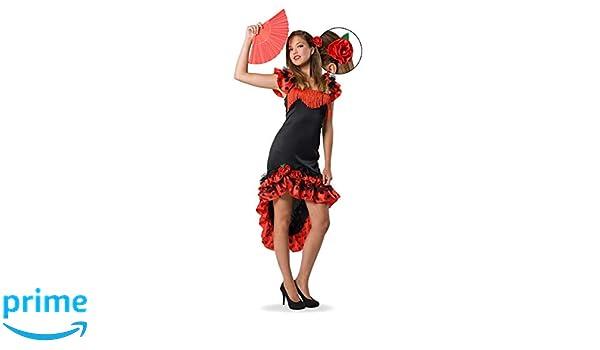 Folat 21934 - Flamenco Española de Vestido, zweiteilige, S - M ...