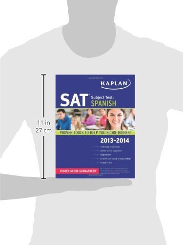Kaplan SAT Subject Test Spanish 2013-2014 (Kaplan Test Prep) by Kaplan Publishing
