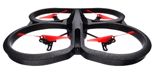 parrot ar drone 2 0 power edition quadricopter 2 hd batteries 36 minutes of flying time red. Black Bedroom Furniture Sets. Home Design Ideas