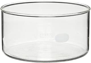 Corning Pyrex 3140-190 Borosilicate Glass 2500mL Heavy Duty Rim Crystallizing Dish, 190mm Diameter x 100mm Height (Pack of 2) (B004DGIEW8) | Amazon Products