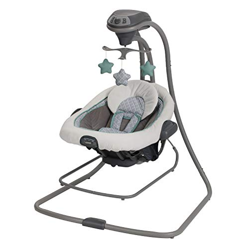Amazon Com Graco Duetconnect Lx Swing And Bouncer Manor Baby