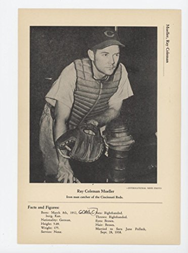 Ray Mueller (Baseball Card) 1946 International News Photos - [Base] #RAMU