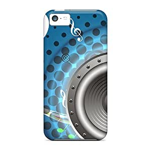 Ultra Slim Fit Hard CaroleSignorile Cases Covers Specially Made For Iphone 5c- House Music
