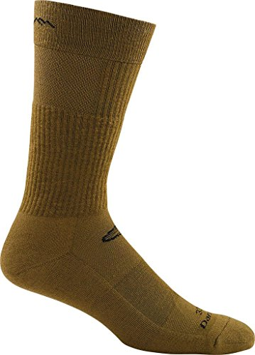 Darn Tough Vermont 33005 Hot Weather Light Cushion Boot Sock (X-Large, Coyote Brown)