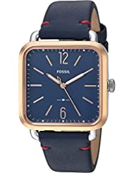 Fossil Womens Micah - ES4251 Rose Gold Leather One Size