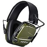 Best Electronic Earmuffs - Mpow Electronic Shooting Earmuffs, Rechargeable Ear muffs 30Hrs Review