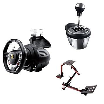 Volant Thrustmaster TX Racing Wheel + boîte de vitesse TH8A + support