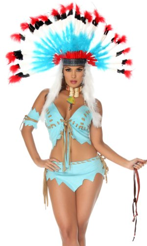 [Tomahawk Hottie Sexy Costume] (Forplay Costumes Indian)