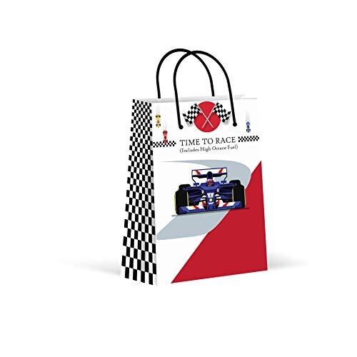 Premium Race Car Party Bags, Car Party Favor Bags, New, Treat Bags, Gift Bags, Goody Bags, Party Favors, Party Supplies, Decorations, 12 Pack