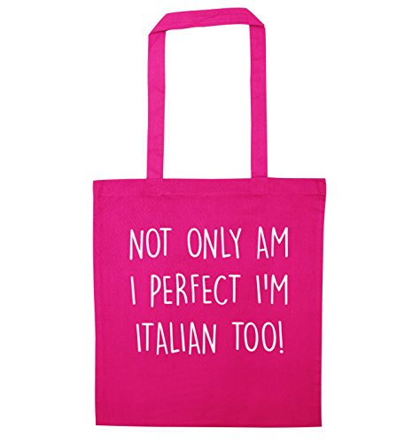 italian am too I'm only perfect bag I tote Not Pink wqaxUTnX5
