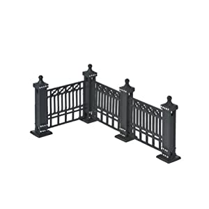 Department 56 Village City Fence Accessory Set of 7