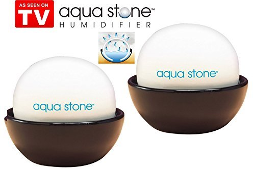 Aqua Stone Humidifier - 2 Pack by Telebrands