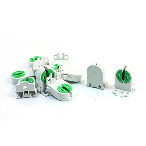 uxcell 10Pcs Dual Terminals T5 T4 Fluorescent Tube Bulb Lamp Holder Socket