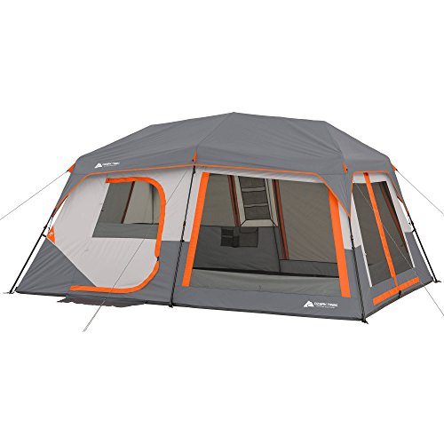 Ozark Trail Instant Cabin Tent with Built in Cabin Lights