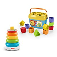 Fisher-Price Rock-a-Stack & Baby's First Blocks Bundle...