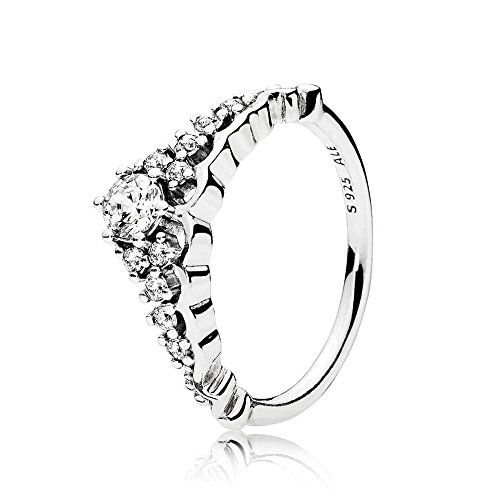 (PANDORA Fairytale Tiara Ring, Clear CZ 196226CZ-50 EU 5 US)