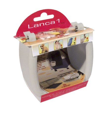 Marchioro Lanca 1 Universal Bowl for Pets, Small, Beige, My Pet Supplies