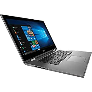 Dell Inspiron 15-5579 2 IN 1 (Intel Core i5, 8th Generation, 16 GB RAM PC4, 256 GB SSD M.2,  Intel Shared Graphic, X360 Convertible, Touch Screen, 15.6 Inches, FHD Display) Window 10, Grey