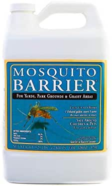 Mosquito Barrier Liquid Spray, 1 Gallon – Safe for Kids and Pets