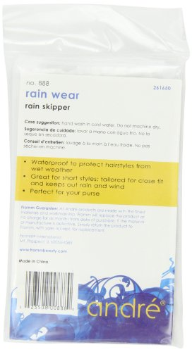Andre Rain Wear 888 Rain Skipper, White, One Size Fits All