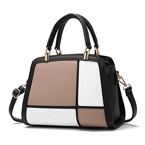 Spanning Lady'S Khaki Naranja Hombro Solo Moda Handbag Nueva Inclinado GWQGZ PzEwnYqS8