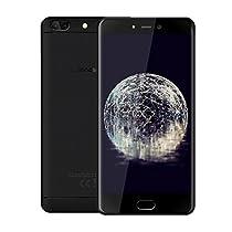 Leagoo T5 Smartphone in Offerta 4G, 5.5 Pollici FHD(16:9), 4GB RAM, 64GB ROM(Espandibile con MicroSD da 256 GB), Triple Fotocamera (F:13MP e P:13MP+5MP), Octa Core 1.5GHz, 3000mAh di Batteria, Telefonia Mobile da Dual SIM, Sensore di Impronte Digitali, Android 7.0, Bluetooth 4.0, Unibody di metallo, Mobile Phone Per Guardare la Coppa del Mondo 2018