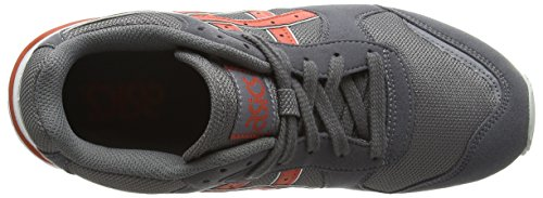 ASICS - Gel-classic, Zapatillas unisex adulto Gris (grey/chili 1124)