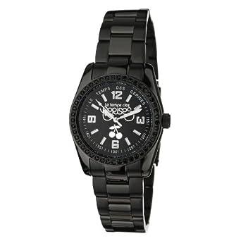 Le Temps des Cerises Damen-Armbanduhr Analog Quarz Edelstahl TC01STBK2M