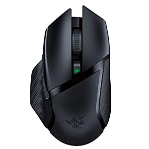 Razer Basilisk X HyperSpeed Wireless Gaming Mouse: Bluetooth & Wireless Compatible, 16K DPI Optical Sensor, 6…