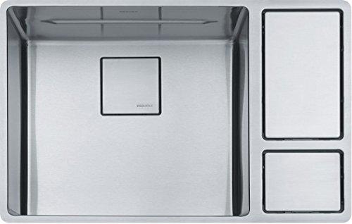 Franke CUX11018-W 18 Gauge Undermount Single Bowl Kitchen Si