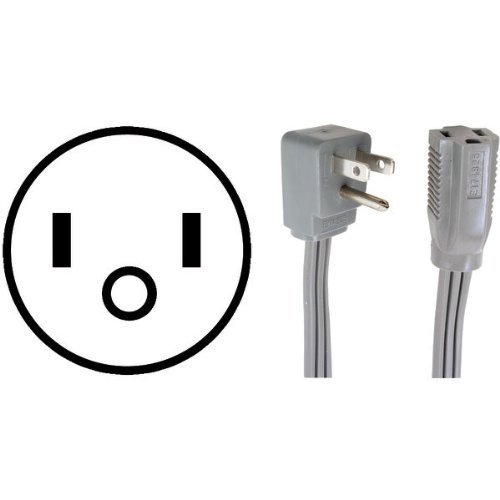 0312 Appliance Extension Cord - Certified Appliance 15-0312 Appliance Extension Cord, 12-Feet by Certified Appliance