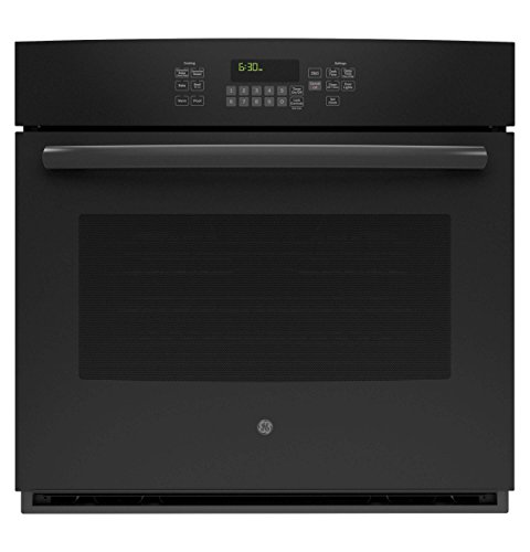 GE JT5000DFBB 30″ Black Electric Single Wall Oven – Convection