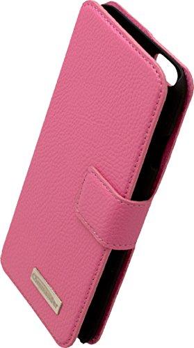 Commander Book Case Elite Leder für Apple iPhone 6 pink