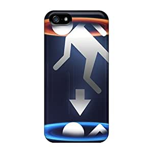 Hot Snap-on Portal Infinite Hard Covers Cases/ Protective Cases For Iphone 5/5s