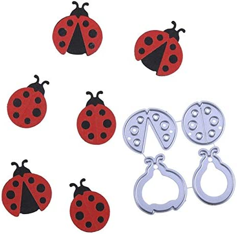 Amazon.com: New Cute Ladybugs Metal Cutting Dies Stencil For DIY Scrapbooking Photo Album Embossing Paper Cards Decorative Crafts Die Cuts