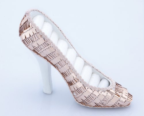 Shoe Shaped Jewelry Holder Color: Pink