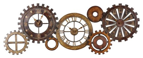 Uttermost Spare Parts Wall Clock by Uttermost