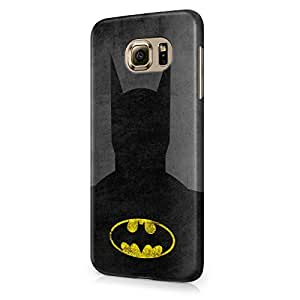Batman Grunge Hard Snap-On Protective Case Cover For Samsung Galaxy S6 (Not Edge)