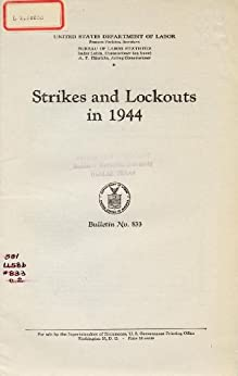 labor strikes and lockouts This article tries to look at the implications of lockouts and strikes on the major  stakeholders in an industrial relations set-up viz the employer, the union and the .