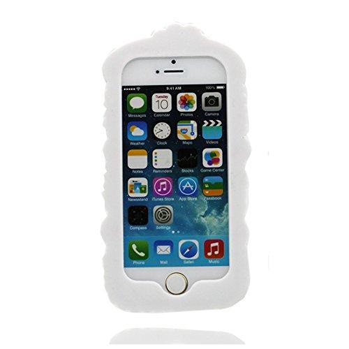 iPhone 5S Copertura,iPhone SE / 5 Custodia,sushi bella 3D del fumetto Gomma morbida di silicone Supporto per copertina Case Cover per iPhone SE / 5 /5S